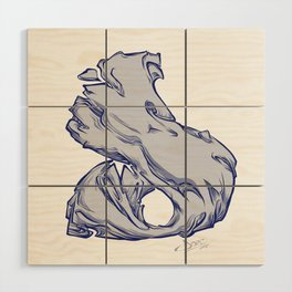 The Letter D is Dope!  Wood Wall Art