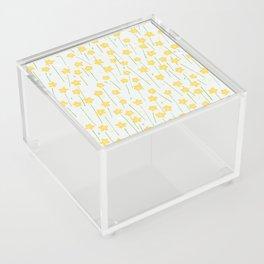Buttercup Field M+M Evergreen by Friztin Acrylic Box