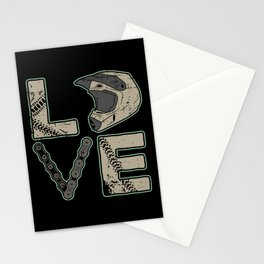 I Love Dirt Bike | Motocross Stationery Cards