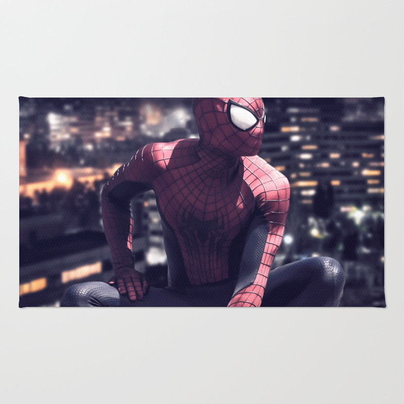Spider Man Rug by Krisna601 RUG7723921