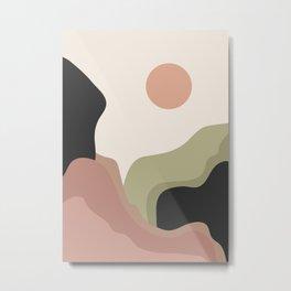 Modern Abstract Art 07 Metal Print
