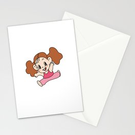 a Girl_A Stationery Cards