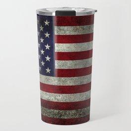 USA flag - in Super Grunge Travel Mug