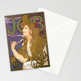 Alfons Mucha - Job 1896 - Digital Remastered Edition Stationery Cards