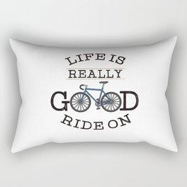 Bicycling Rectangular Pillow