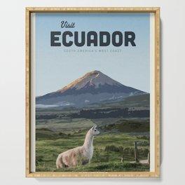 Visit Ecuador  Serving Tray