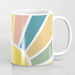 Retro Sun Ray Burst Coffee Mug
