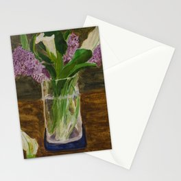 Mother's Day Lilies Stationery Cards