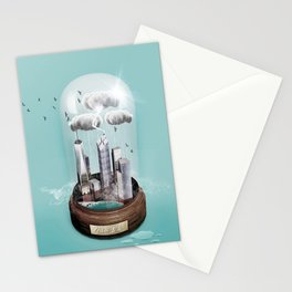 Nw York City Dome II Stationery Cards