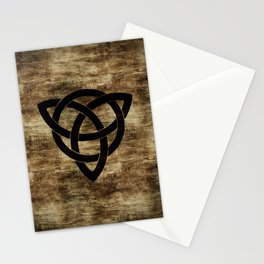 Wooden Celtic Knot Stationery Cards