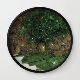 Quinoa and cashew Kitch  Wall Clock