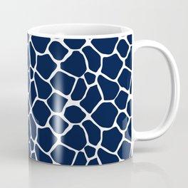 Navy Giraffe Coffee Mug