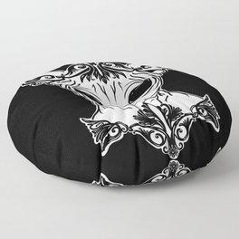 Elven Sphynx Kitten - Magical Elf Sphynx Cat - Hairless Floor Pillow