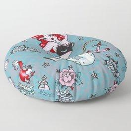 Molly Mermaid Floor Pillow