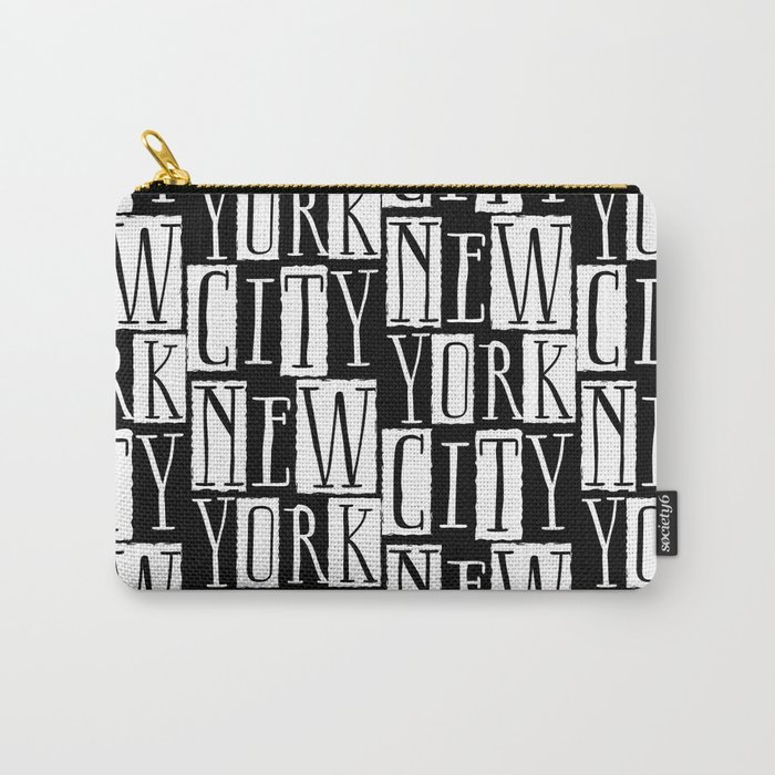 In a New York City Frame of Mind Carry-All Pouch