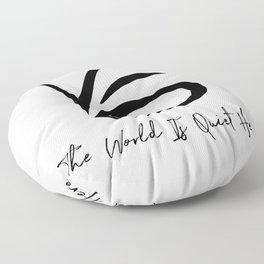 VFD - A Series of Unfortunate Events Floor Pillow