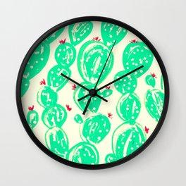 Cactus 93 Wall Clock