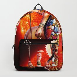 Hindu Durga 8 Backpack