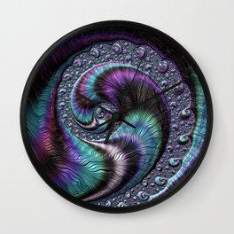 Fractal Art-Abalone Wall Clock