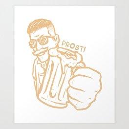 cheers Art Print
