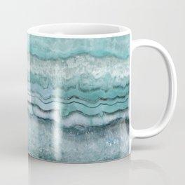 Mystic Stone Aqua Teal Coffee Mug