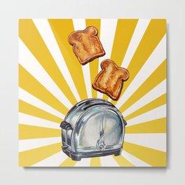 Toaster Metal Print