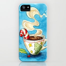 Christmas cocoa iPhone Case