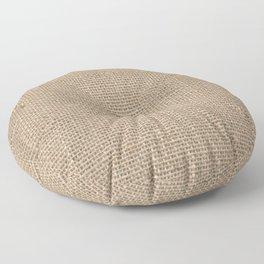 Burlap Texture Floor Pillow