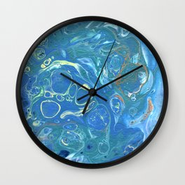Churning Waters Wall Clock