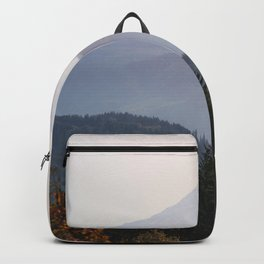 Mount Hood over the Columbia River Gorge Backpack