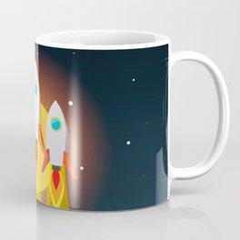rocket take off missiles cosmos Coffee Mug