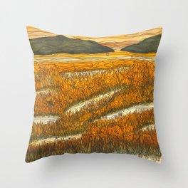 Marsh 17 Throw Pillow