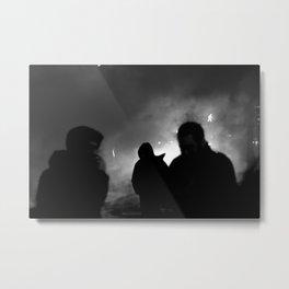 Shadows in the Dark Metal Print