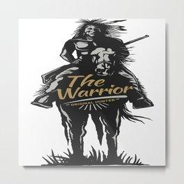 Original Hunter Metal Print