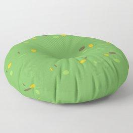 MAKIN' THE ROUNDS Floor Pillow