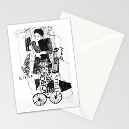 thinking-transport Stationery Cards