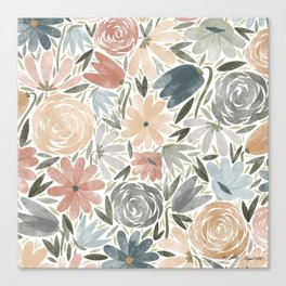 Florals & Foliage (Balloon Florals) Canvas Print