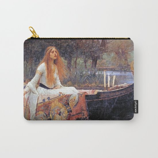THE LADY OF SHALLOT - WATERHOUSE by iconicpaintings