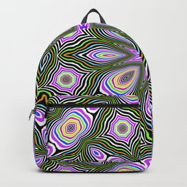 Candy mint pattern Backpack
