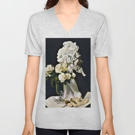 Pan is dead, still life - George Washington Thomas Lambert Unisex V-Neck