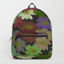 Art Deco Damask Fleur Backpack