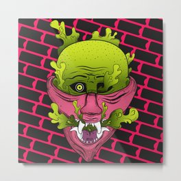 Mouthful of Venom Metal Print