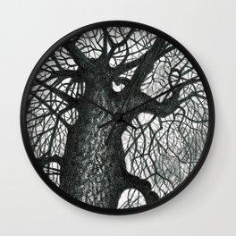 Massive Tree Wall Clock