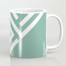 Mint Maze Coffee Mug