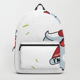 santa greedy Backpack