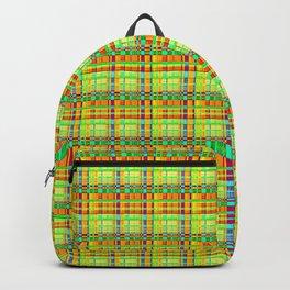 Yellow Green Geek Backpack