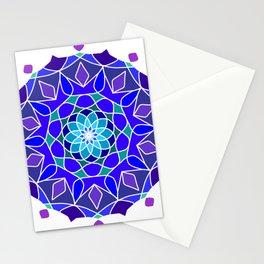symmetrical pattern in ten planes Stationery Cards