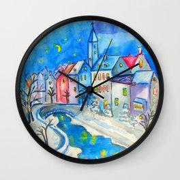 WINTER TALES Wall Clock
