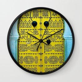 Ornate Tunisian Doorway Wall Clock