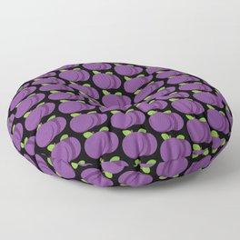 Plums Pattern Floor Pillow